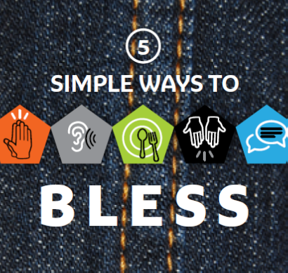 5 ways to Bless your Neighbours Pocket Version